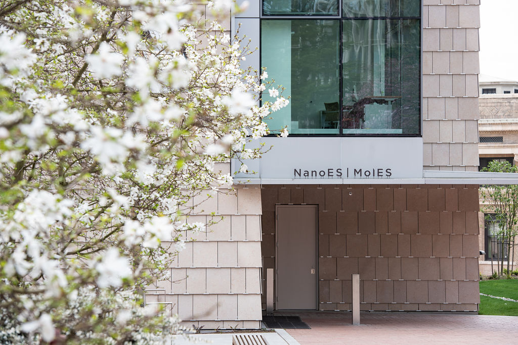 exterior of the molecular engineering and sciences building